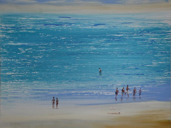 beach-izik-lambez-2011-acrylic-on-canvas-140-170-cm