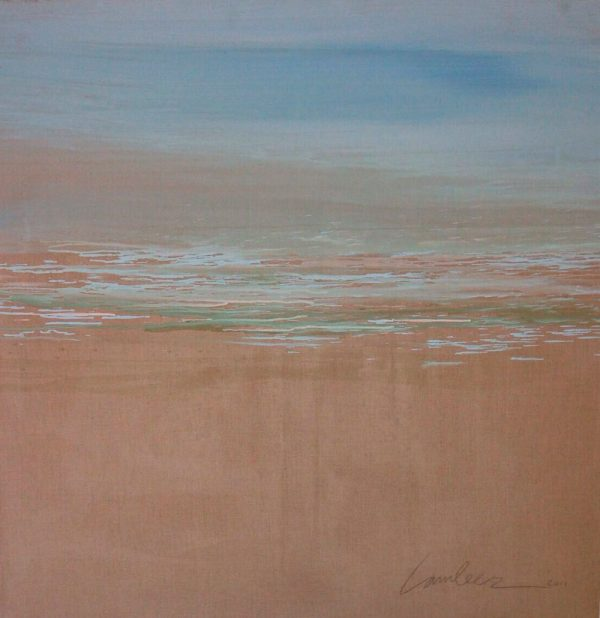 beach-izik-lambez-2013-acrylic-on-canvas-120-120-cm