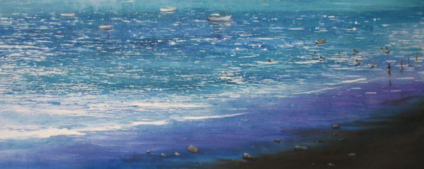 beach-izik-lambez-2014-acrylic-on-canvas-300-140-cm
