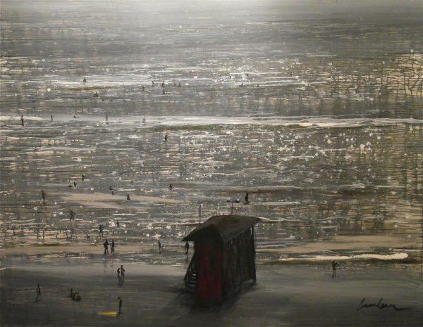 evening-sun-izik-lambez-2013-acrylic-on-canvas-180-140-cm