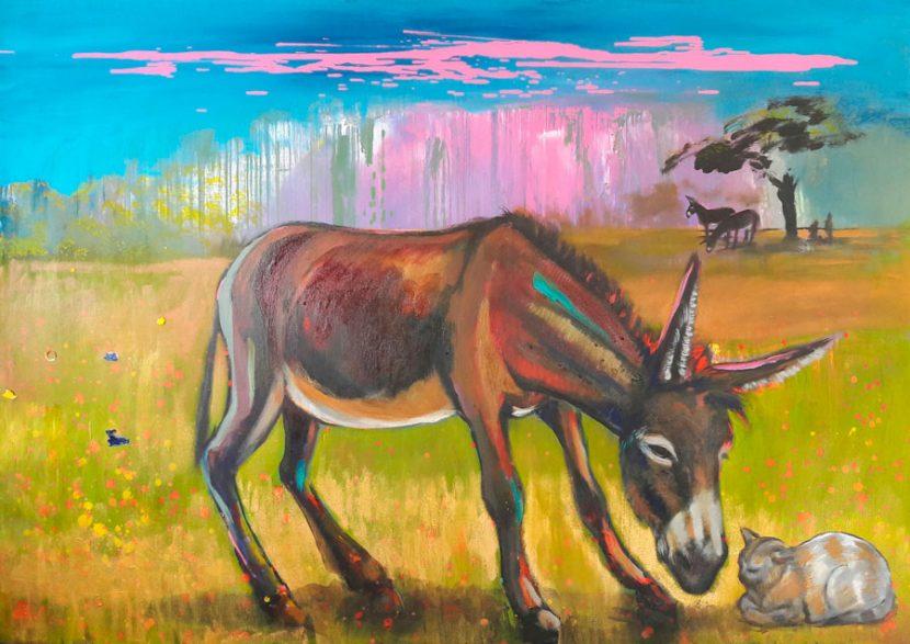 benny-and-gidi-izik-lambez-2017-acrylic-on-canvas-130-170-cm
