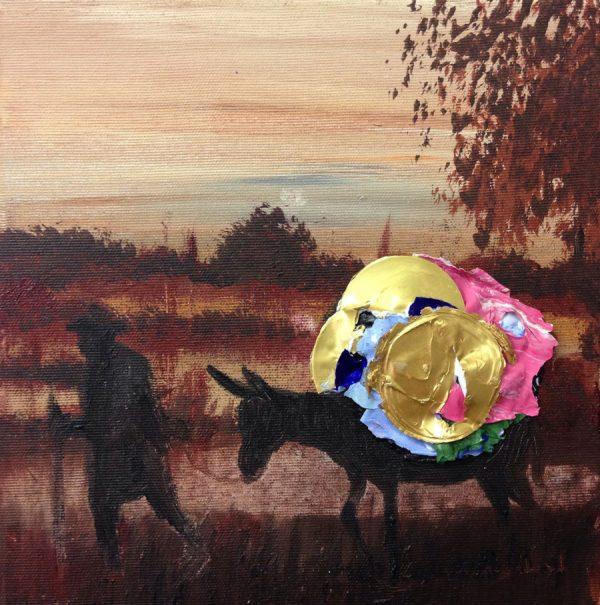 contento-pa-casa-izik-lambez-2014-acrylic-on-canvas-25-25-cm
