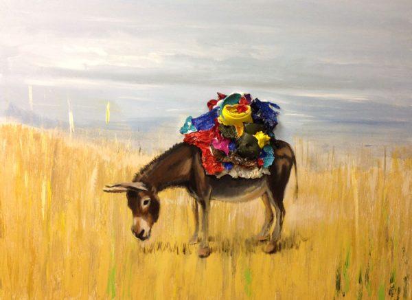 donkey-izik-lambez-2015-acrylic-on-canvas-80-120-cm