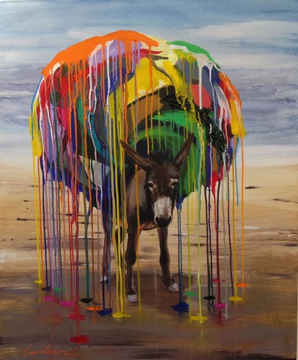 donkey-izik-lambez-2016-acrylic-on-canvas-130-100-cm