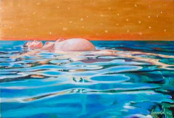 fertility-island-2-izik-lambez-2001-acrylic-on-canvas-80-120-cm