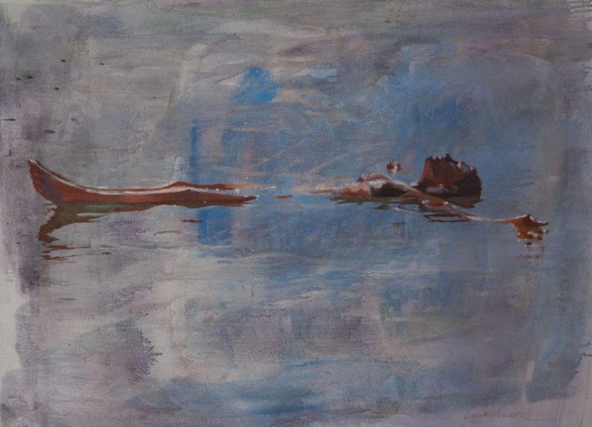 floating-izik-lambez-2014-acrylic-on-canvas-60-80-cm