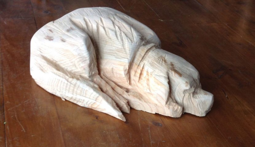 sculpture-dog