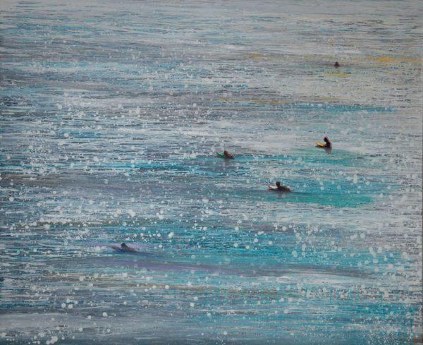 surfers-izik-lambez-2013-acrylic-on-canvas-170-140-cm