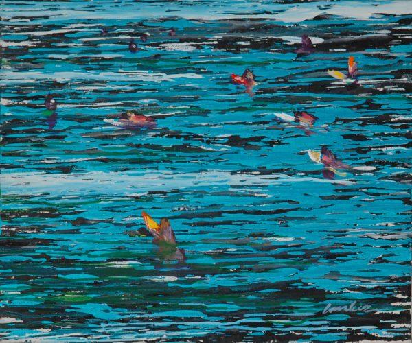 surfers-izik-lambez-2013-acrylic-on-canvas-60-50-cm
