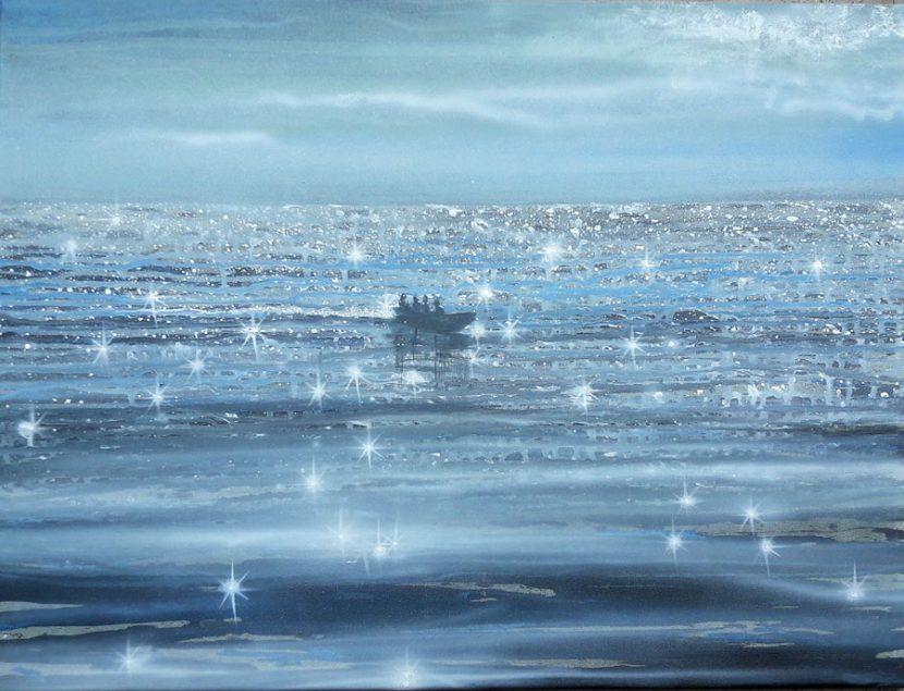 the-calm-izik-lambez-2017-acrylic-on-canvas-50-60-cm